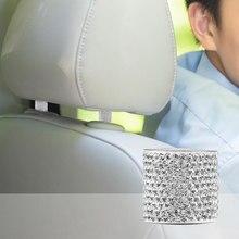 Car Headrest Collar Decor Crystal Bling Women Rhinestone
