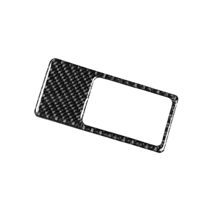 Image 1 - لمازدا CX 5 CX 5 2017 2018 ألياف الكربون سيارة العلوي التبديل غطاء لوحة فقط LHD