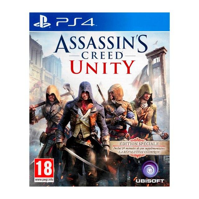Игра для Sony PlayStation 4 Assassin's Creed: Единство, русская версия