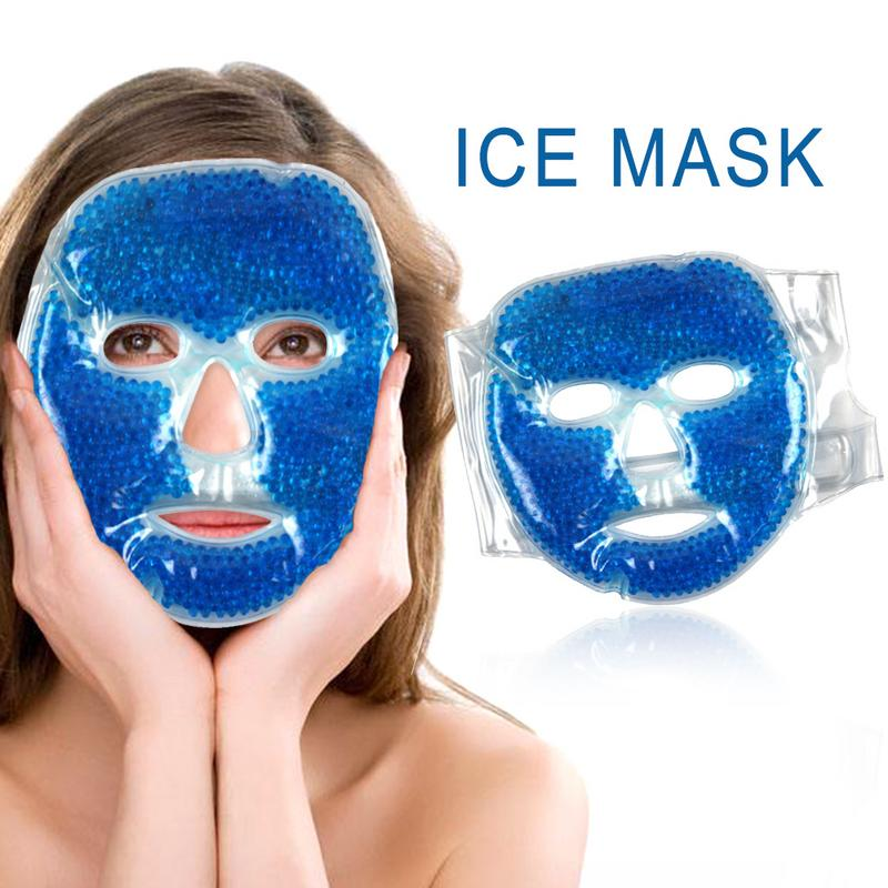 Ice Mask Face Eye Mask Gel Cold Pack Reduce Puffiness Bags Eyes Puffy Dark Circles Remover Cover For Sleeping Pressure Relief