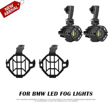 For BMW Motorcycle Parts Fog light Protector Guards Spot light Cover OEM Lights For BMW R1200GS F800GS Adventure ADV 2005-2013(China)