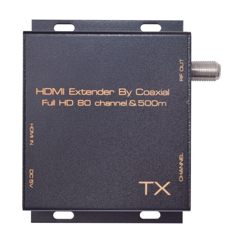 Tüketici Elektroniği'ten AC/DC Adaptörler'de Hdmi Dvb T modülatör dönüştürmek Hdmi Extender sinyali dijital Dvb T Hdmi Dvb T modülatör Tv alıcısı desteği Rf çıkışı ab pl title=