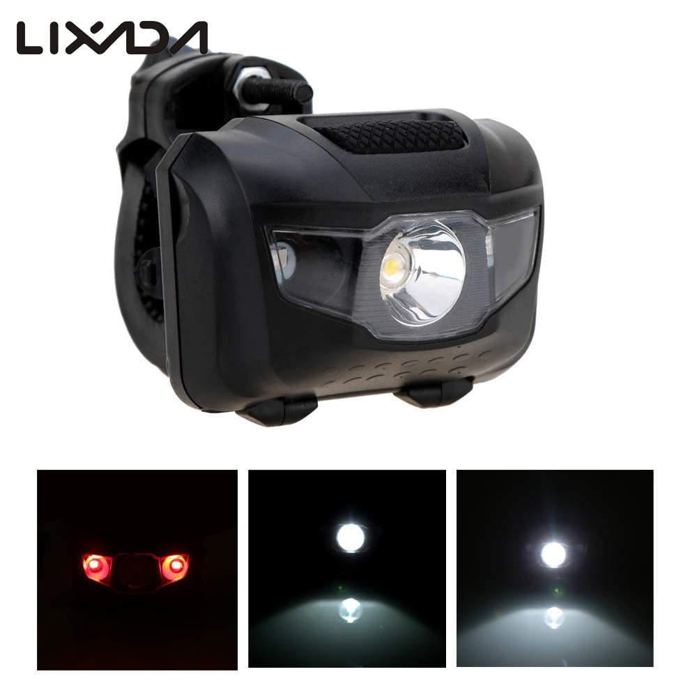 Lights-Flashlight Bicycle-Light Cycling-Accessories Tail Bike Abs-Head Warning Front