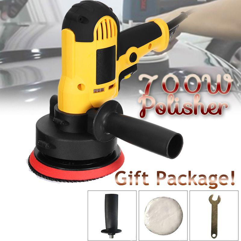 Meuleuse d'angle de Machine de polissage de cire de 220 V 700 W pour polir le tampon réglable de 125 MM de meubles en métal