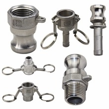 лучшая цена 1pcs 304 Stainless Steel Homebrew Camlock Female Coupler Fitting Male Adapter 1/2