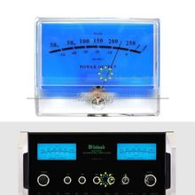 DYKB VU Meter Panel DB Livello di Intestazione Audio Amplificatore di Potenza Indicatore Meter Tavolo Preamplificatore audio misuratore di potenza con retroilluminazione A LED