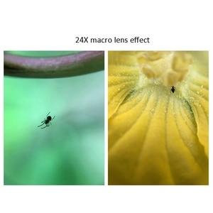 Image 5 - Pholes 2 In 1 Universal 12 24X Macro Photography Lens For J5 2017 J7 2017 A7 2017 J5 Prime Mobile Phone Camera Lens