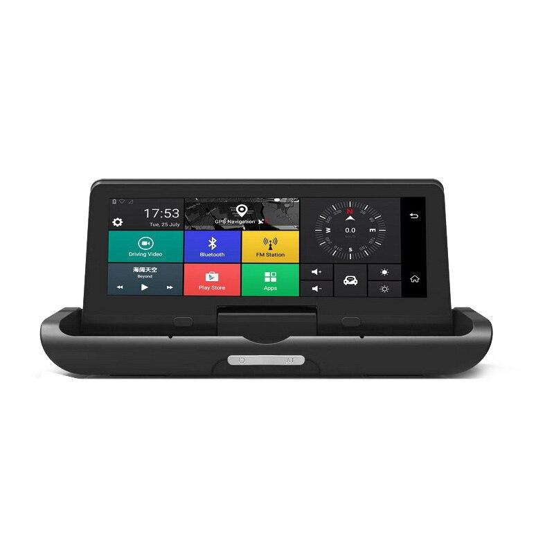 Foldable Car Dvr 8 Inch Dash Cam Android 5.1 Gps Navigation Cameras Auto Recorder Full Hd 1080P Car Dash Camera For Chery Tigg