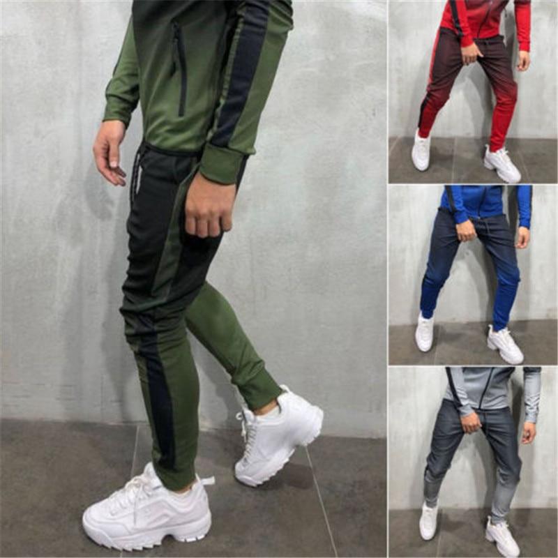 Men's Track Pants Casual Sports Jogging Bottoms Joggers Trousers Fashion Drawstring Pencil Pants