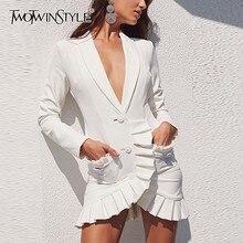 femme solide robe à