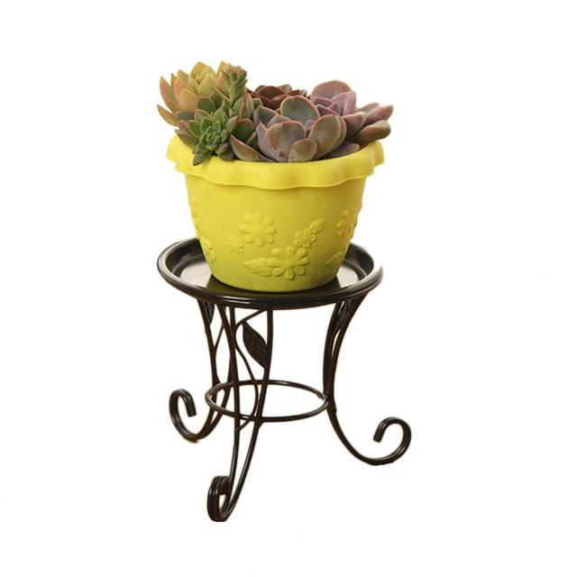Iron Metal Mini Small Flower Plants Pot Stand For Indoor