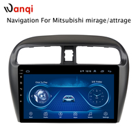 Hot Sale 9 Inch Android 8.1 Car Dvd Gps Player For Mitsubishi mirage attrage 2012 2018 built in Radio Video Navigation Bt Wifi