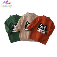 3015a0eb7b41d8 2018 New Autumn Sweater For Baby Boys Toddler Kids Warm Knitted Clothing  Children Pullover Sweater Cartoon. US $18.56 US $12.81. 2018 Nieuwe Herfst  Trui ...
