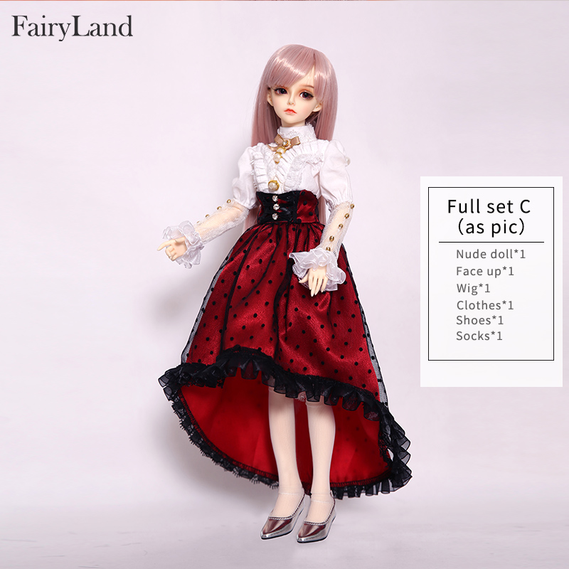 Fairyland Minifee Celine Rendia Chloe Mirwen Eva Rena Full Set Package Resin BJD Doll Kit 1