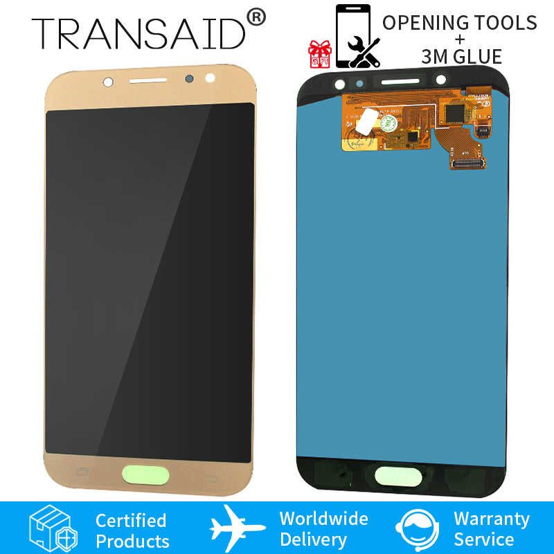 567edc064e AMOLED J730F J730GM J730G J7Pro Display touchscreen replacement for Samsung  Galaxy J7 Pro LCD display touch