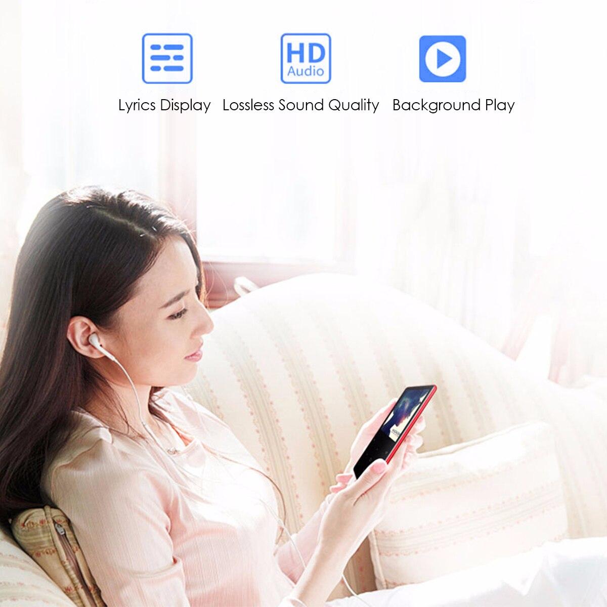 Lecteur MP3 Bluetooth de marque 8 GB lecteur multimédia de musique USB enregistreur vocal FM réveil E-book avec prise en charge casque carte TF - 4