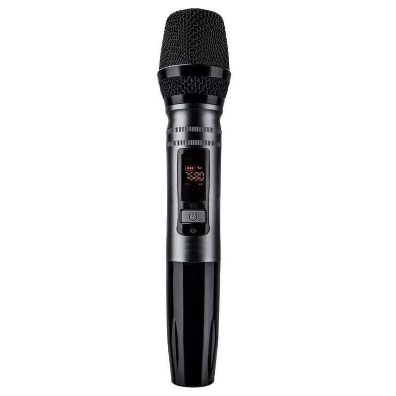 1 pièces/ensemble Ux2 Uhf Auto système de Microphone dynamique sans fil avec récepteur pour amplificateur mélangeur haut-parleur Bus Audio de bureau