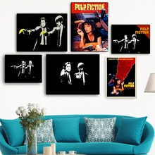 Pulp Fiction Vintage Movie Poster And Print Canvas Art Painting Wall Pictures For Living Room Decoration Home Decor No Frame