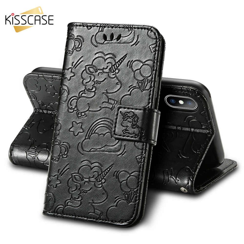 Чехол KISS с изображением пони, кожаный чехол для Xiaomi mi 5X A1 5S 5C, откидной Чехол-кошелек для Red mi Note 4 4X5 Plus Pro 3S 4A 5A Funda