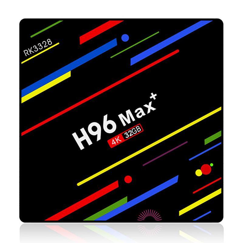H96 Max Plus Android 8 1 Tv Box Smart Set Top Box Rockchip Rk3328 4Gb 32Gb