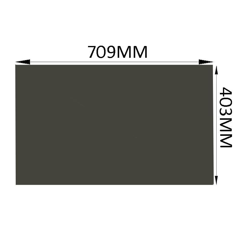 10PCS Lot New 32inch 0 Degree Matte 715MM 403MM Monitor LCD LED Polarizer Polarizing Film Sheets