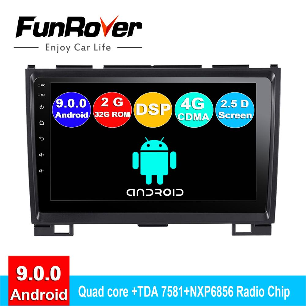 FUNROVER 2 din android 9.0 car dvd player For Haval Hover Greatwall Great Wall H5 H3 2010-2013 radio gps navigation navi stereoFUNROVER 2 din android 9.0 car dvd player For Haval Hover Greatwall Great Wall H5 H3 2010-2013 radio gps navigation navi stereo