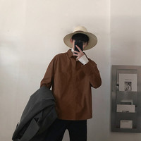 Newest Men's Classic Patchwork Hawaiian Slim False Two Pieces Clothes Loose Casual Long sleeves French Cuff Shirts shirt men