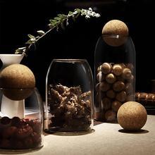 Креативные кухонные бутылки для хранения сыпучих продуктов, банки с крышкой для специй, сахара, чая, кофе, стеклянный контейнер, органайзер для получения банок