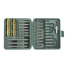 Набор бит KRAFTOOL 26156-H40 (40 предметов, SL / PH / TX / PZ, хром-ванадиевая сталь)