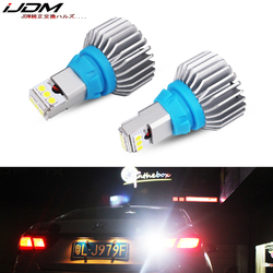 iJDM Car premium T15 LED 6000k White 12V 24V CANBUS Error Free 912 921 W16W 3030 LED Bulbs For Euro Car Back up Reverse Lights