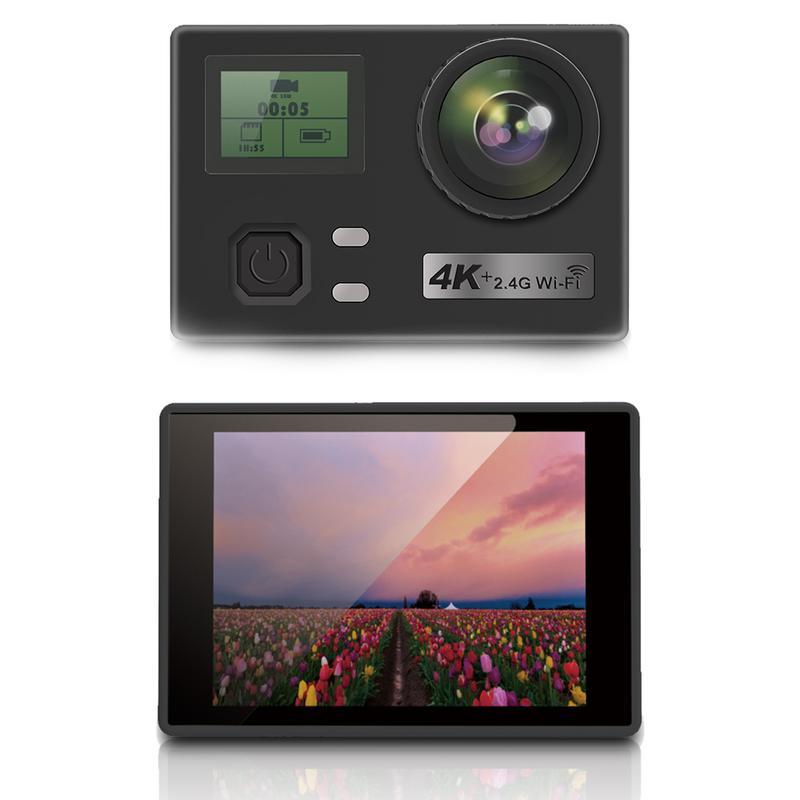 Camera de voiture Auto Sport Surf Ski Record Vidéo 4 K Wifi Caméra HD étanche caméra de recul avec télécommande Extrême caméra de sport