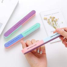 3 шт/лот пилка для ногтей восьмисторонняя и шестисторонняя шлифовальный