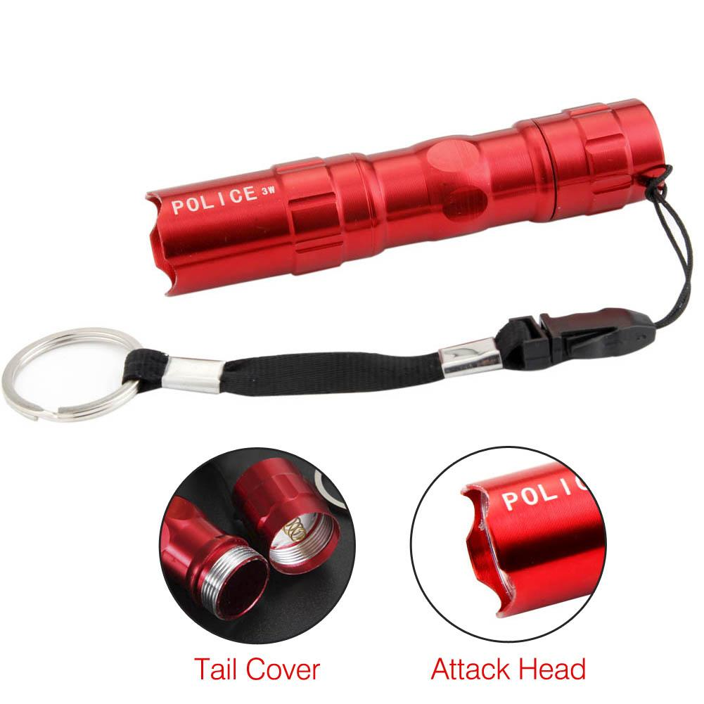 3W Police LED Mini Waterproof Ultra Bright Flashlight Torch Camping Hiking #B TS
