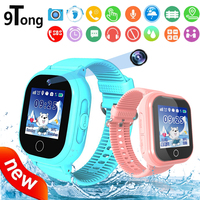 2018 New Waterproof Kids GPS Smart Watch With Camera Touch Screen Smartwatch SOS Movement Track Support Children Smart Watch C0