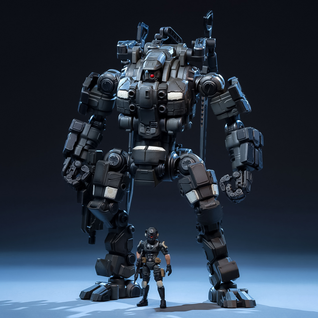 28cm Mecha Model Double Militia Assault Mecha Assorted Color Assembly Removable Soldier Model With High Degree Of Reduction28cm Mecha Model Double Militia Assault Mecha Assorted Color Assembly Removable Soldier Model With High Degree Of Reduction