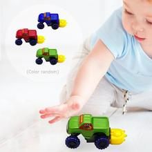 1PC DIY Assemble Disassembly Car Toy Car Kids Off-road Vehicle Racing Car Children Christmas Gifts Random Color