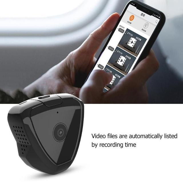 S6 Mini WiFi IP Camera Motion Sensor 1280x720P Night Vision Magnetic Clip Web Camera USB 2.0 300mAh Camera Support 64G TF Card 1