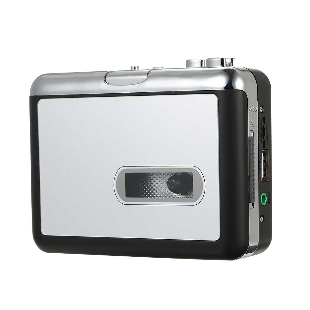 Kaset MP3 dönüştürücü Bant Müzik Çalar Dijital Ses Kaydedici dönüştürmek MP3 Kaydetme usb flash sürücü ile USB kablosu