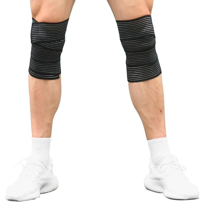 Wear-resistant And Non-ball-proof Outdoor Bandage Tape Sport Knee Support Strap Guard Compression Protector