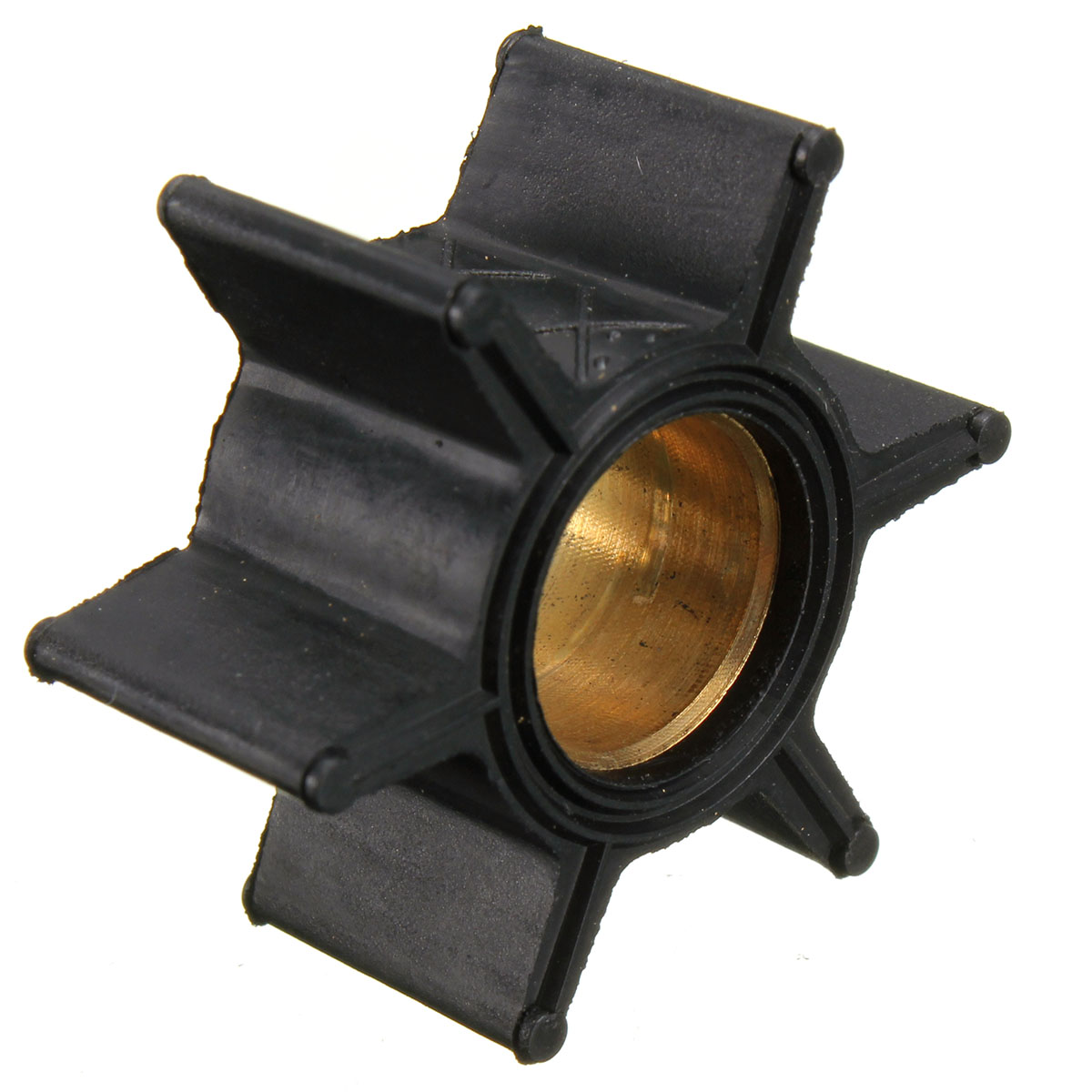 Outboard Motor Quicksilver Water Pump Impeller HP 47-89981 47-65957 18-3039 for Mercury/Mariner Outboard 4, 4.5, 6, 7.5, 9.8 image