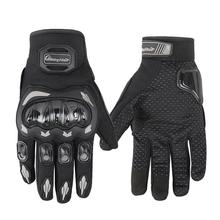 Adeeing Unisex Motorcycle Gloves Summer Breathable Moto Riding Protective Gear Non-slip Touch Screen Guantes