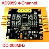 AD9959 DC 200MHz 4 Channel Radio Frequency RF Signal Source Generator DDS Module Wave: Sine Wave Sine