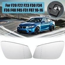 Left/Right Wide Angle Heated Mirror Glass For BMW F20 F22 F23 F30 F34 F36 F48 F45 F31 F87 2010 2011 2012 2013 2014 2015 2016