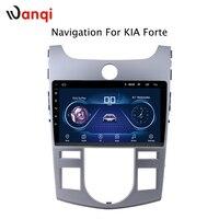 Горячая продажа 9 дюймов Android 8,1 автомобиль Dvd Gps плеер для KIA forte 2014 2009 Радио Видео Навигация Bt Wifi