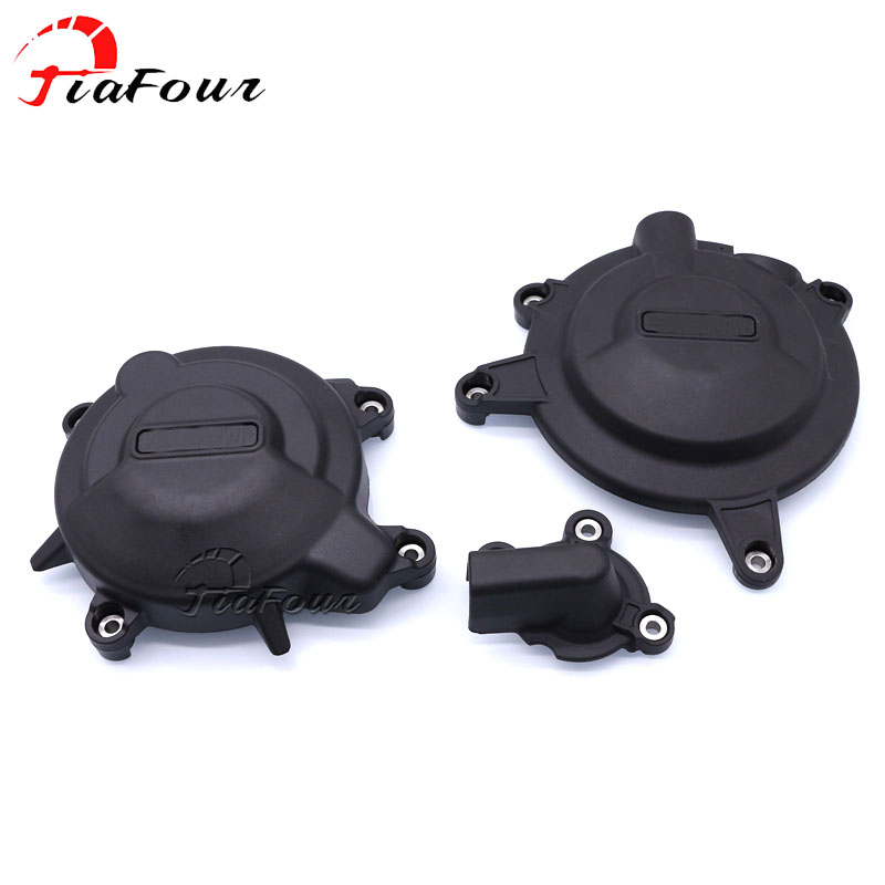 For KAWASAKI Ninja 400 2017 2018 nylon engine stator cover engine guard protection side shield protector