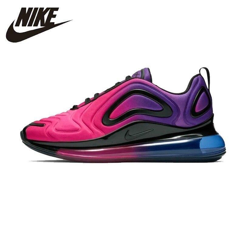 Nike Air Max 720 Mulher Running Shoes Original Almofada de Ar Respirável Esportes Confortáveis Sapatilhas # AR9293