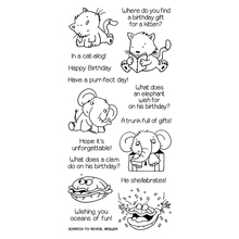 Animals and birthday riddles Transparent Clear Silicone Stamp/Seal for DIY scrapbooking/photo album Decorative clear stamp lusoga riddles and proverbs