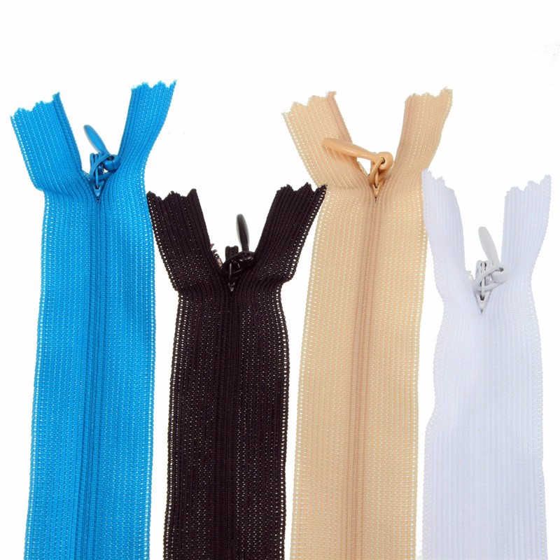 Simple 60CM Invisible Concealed Nylon Closed Open Ended Zip Dress Upholstery Craft for Home Sewing Handmade Clothes Tools