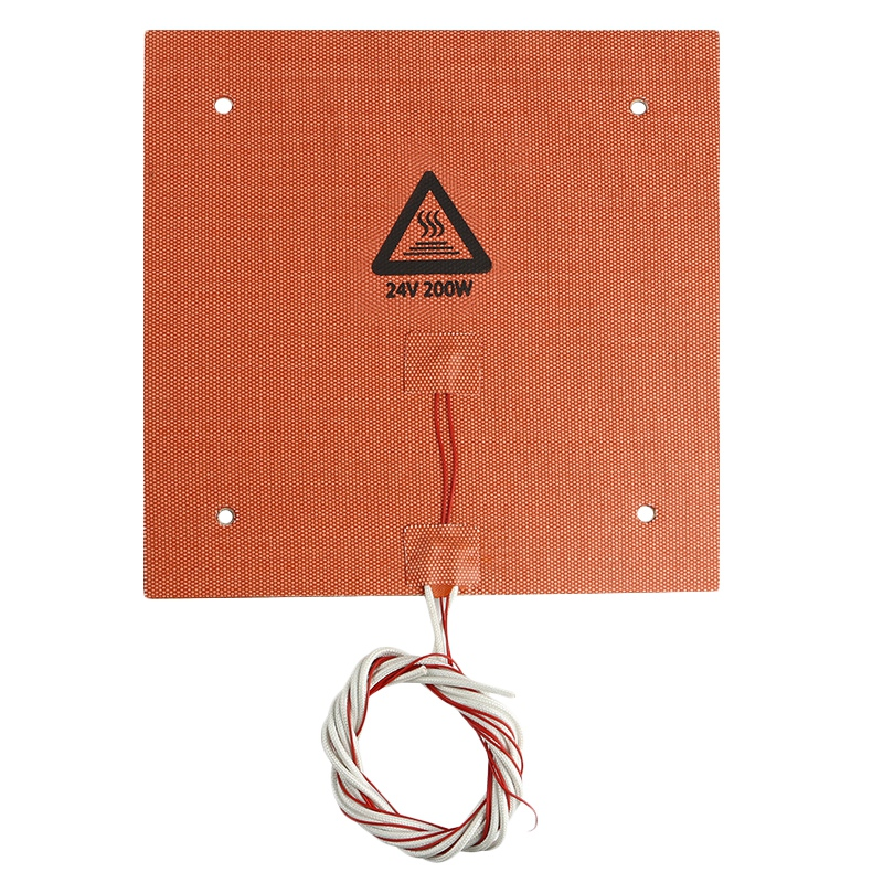 3D Printer Accessories Ender-3 235 x 235Mm 24V 200W Hot Bed Platform Silicone Mat Temperature3D Printer Accessories Ender-3 235 x 235Mm 24V 200W Hot Bed Platform Silicone Mat Temperature