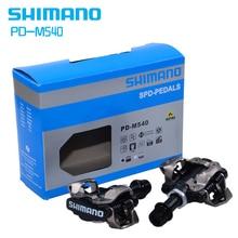 ShimanoPD-M540 селбст-Verriegelung Klick СПД педали велосипеда M540 MTB Берг Fahrrad Padals Mit оригинальный PD22 Stollen